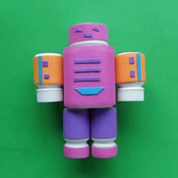 简单自制药瓶机器人的方法教程