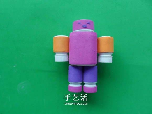 簡單自製藥瓶機器人的方法教程