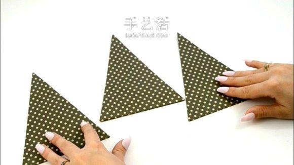 自制圣诞树爆炸盒的方法详细步骤图解 -  www.shouyihuo.com