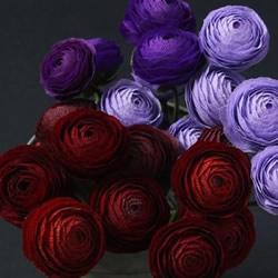 皱纹纸手工制作超美玫瑰花图解