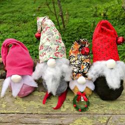 袜子手工制作圣诞小矮人图解教程