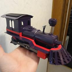 自制电动马达火车头的方法图解教程