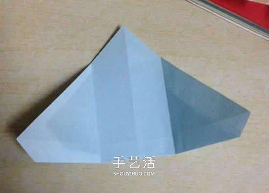 兒童手工摺紙企鵝的簡單方法圖解
