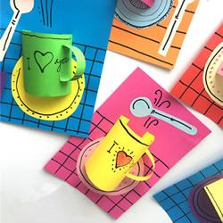 超有创意的立体情人节卡片手工制作