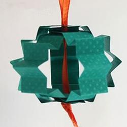 只需几分钟!用卡纸制作元宵节灯笼的方法