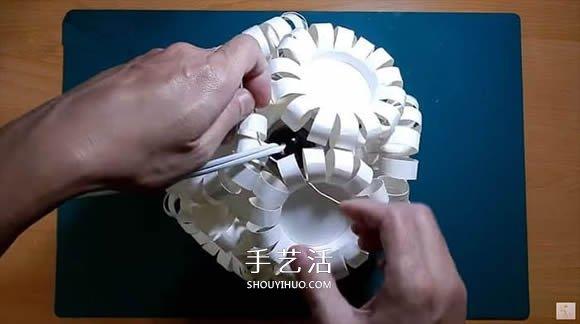 便宜超美不美观纸杯灯笼的方法教程 -  www.shouyihuo.com