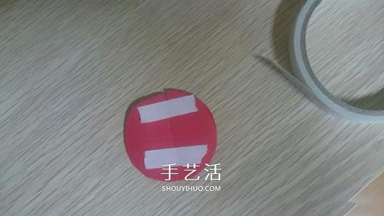 幼儿园手工制作立体瓢虫的做法 -  www.shouyihuo.com