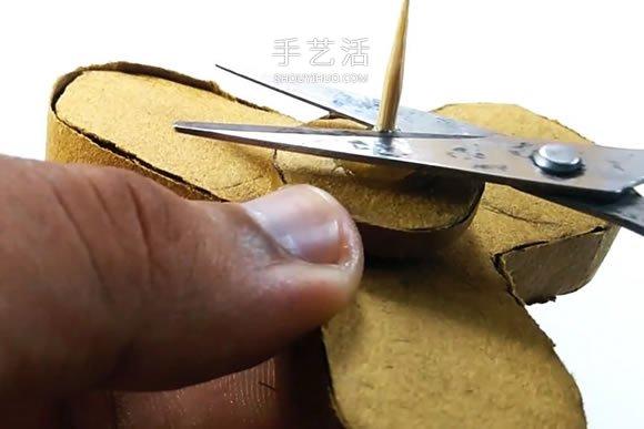硬纸板手工制作指尖陀螺的视频教程 -  www.shouyihuo.com