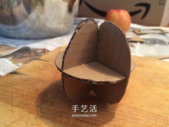 自製逼真蘋果模型的方法教程
