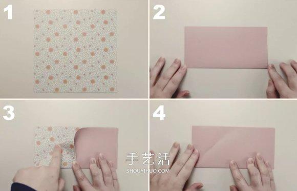 手工摺紙五角星碗的折法圖解教程