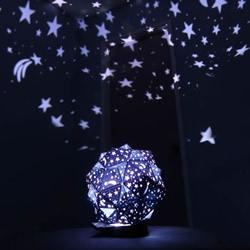 自制二十面体星光投影灯的方法教程