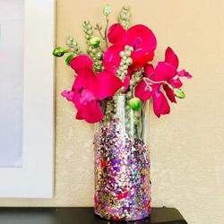 手工改造一个精美花瓶作为女神节礼物