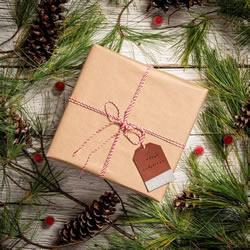 简单美丽的皮革礼品标签DIY 为礼品增添光彩!