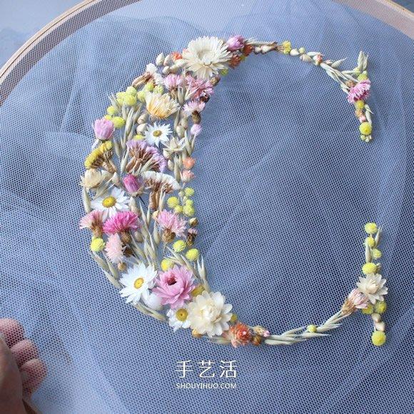 """將乾花""""綉""""成字母 這麼美的靈感來自於夢裡"""