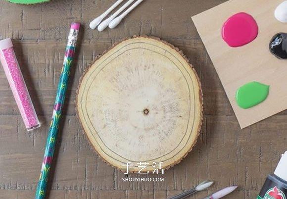 为你的餐桌添彩!自制夏日西瓜杯垫的方法 -  www.shouyihuo.com