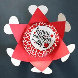 采用礼品信封设计 创意情人节卡片制作视频