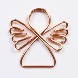 一根金属线制作小天使 简约又漂亮的饰品!
