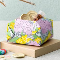 简单的收纳盒折纸教程 四四方方很好看!