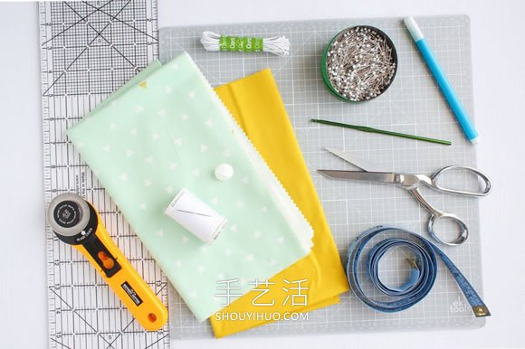 自制布艺手机套 平板和笔记本套也同样做法! -  www.shouyihuo.com
