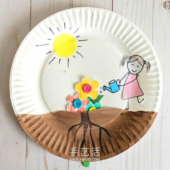 春天有趣手工藝品製作 讓孩子種出美麗小花!