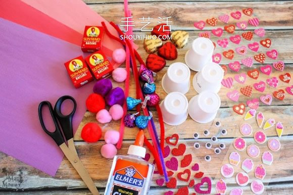孩子的情人节!超可爱小动物糖果礼物DIY -  www.shouyihuo.com
