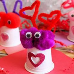 孩子的情人节!超可爱小动物糖果礼物DIY