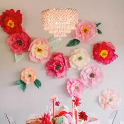 16款各种花DIY制作的迷人手工艺品装饰