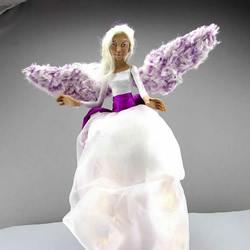 超美软陶天使DIY视频!是装饰摆件也是灯饰