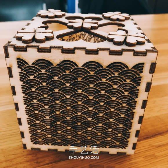 爱情盒投射灯-自制情人节礼物的教程 -  www.shouyihuo.com