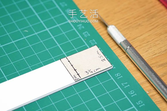 超詳細迷你手工書製作視頻 做一本微型本子!