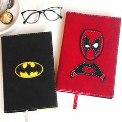 自制超级英雄书套!送给爸爸的父亲节礼物
