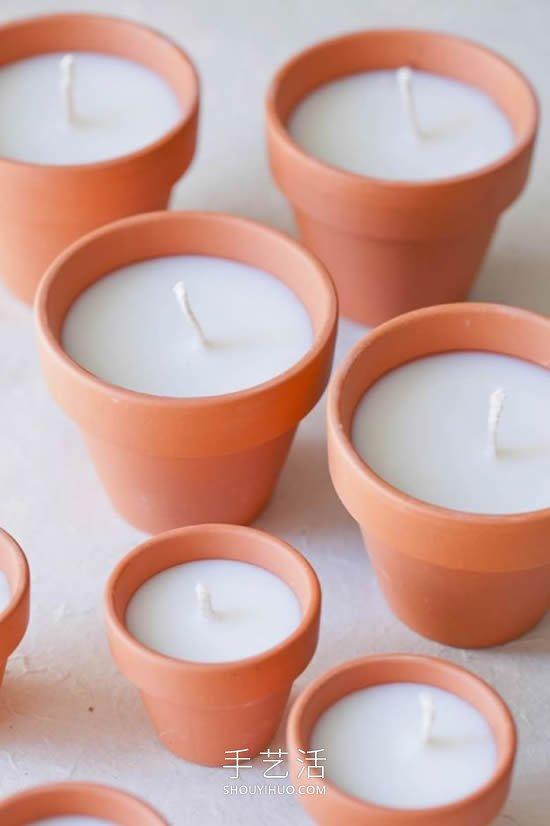 15个精彩蜡烛DIY创意 想买也买不到的装饰烛台 -  www.shouyihuo.com