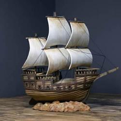 超逼真海盗船模型制作视频 仅仅用了硬纸板!