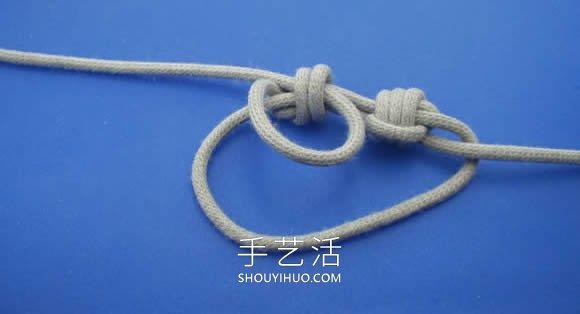 滑结手链的编法视频 另附详细图解说明! -  www.shouyihuo.com