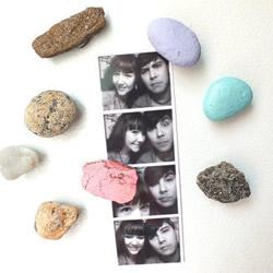 海边捡回的石头再利用 DIY制作创意冰箱贴!