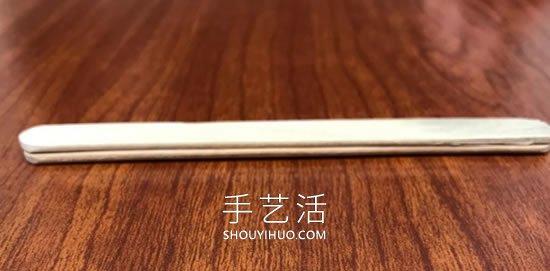 自制双重弹射器玩具 仅需准备冰棍棒和塑料勺 -  www.shouyihuo.com