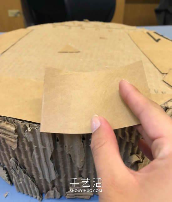 自制猫咪磨爪器 纸板箱再利用不花一分钱! -  www.shouyihuo.com