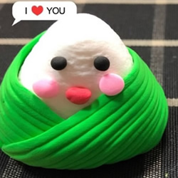 可爱萌萌哒!超轻粘土手工制作端午节粽子