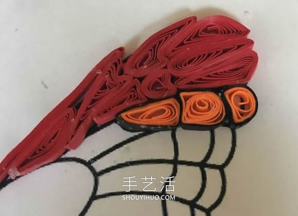 色彩斑斓的小精灵!衍纸蝴蝶手工制作教程 -  www.shouyihuo.com