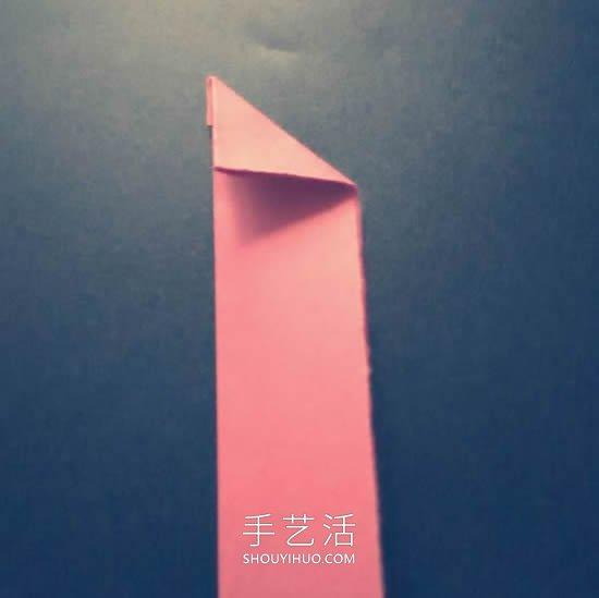 折纸忍者的暗器!四角忍者之星的折法教程 -  www.shouyihuo.com