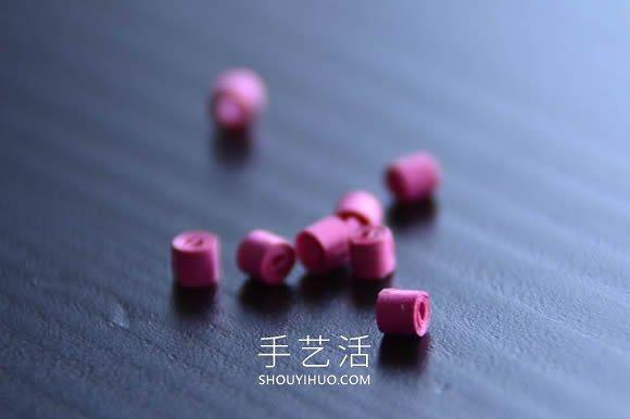给新妈妈的礼物!衍纸宝宝脚印手工制作教程 -  www.shouyihuo.com