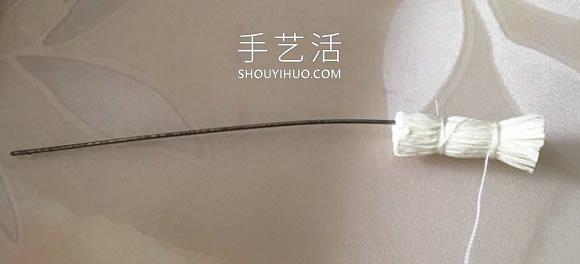 皱纹纸手工制作喇叭花 简单又可爱! -  www.shouyihuo.com