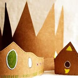 硬纸板手工制作儿童皇冠玩具的做法
