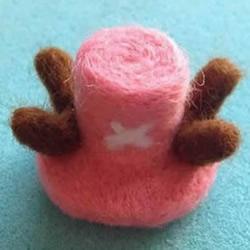 可爱的乔巴帽!羊毛毡帽子手工制作教程
