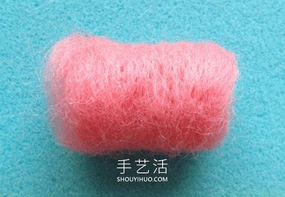 可爱的乔巴帽!羊毛毡帽子手工制作教程 -  www.shouyihuo.com