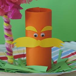 卷纸筒手工制作大胡子老爷爷的做法图解