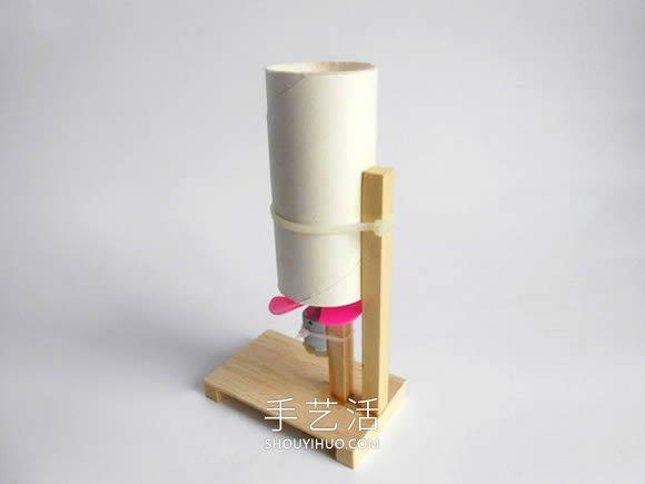 有趣的小学生物理小制作 用马达电机DIY吹球机 -  www.shouyihuo.com