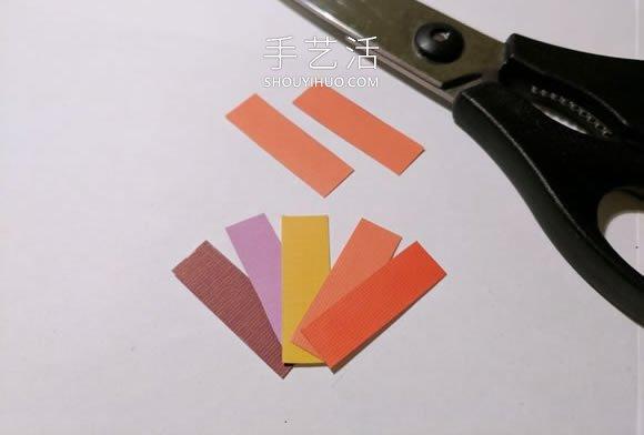 卡纸手工制作创意景观剪影耳环的教程 -  www.shouyihuo.com