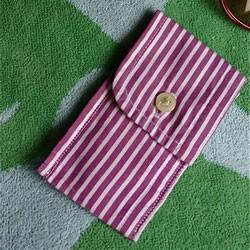 旧衬衫袖口改造零钱包的方法教程