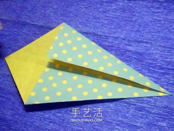 一步一步折纸鲸鱼的简单图解教程 -  www.shouyihuo.com